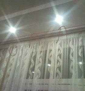 Карнизы на окна для штор любой длины!