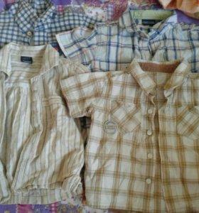 Рубашки на мальчика до 2 лет