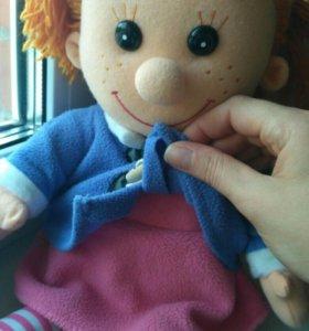 Мягкая муз кукла