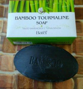 Мыло бамбук и турмалин