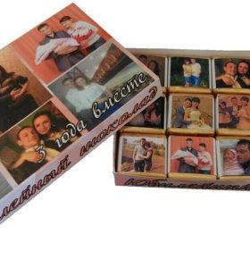 Шоколадный набор с фото
