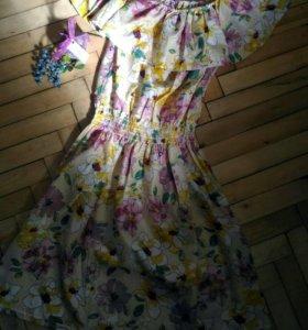 Летний сарафан. Платье