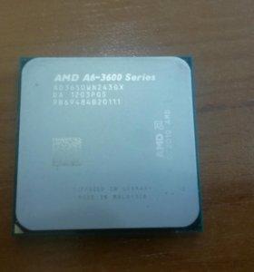 AMD A6-3600 4 ядерный