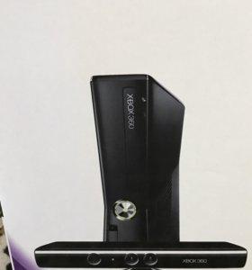 Xbox 360+Kinect +жёсткий диск 500 GB