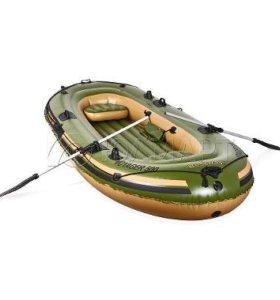 Лодка надувная ПВХ Voyager 300 (новая в коробке)
