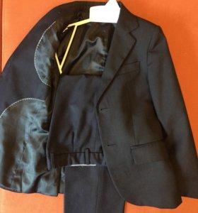 Школьная форма 30/128 (пиджак и брюки) + жилетка