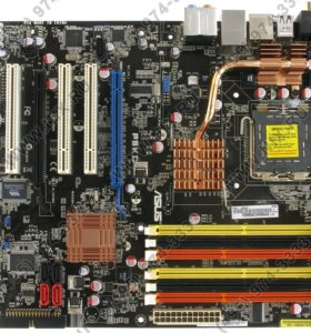ASUS P5KC комплект