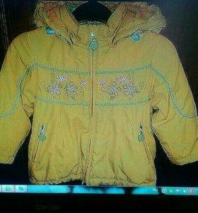Куртка кико на флисе на 98-1О4