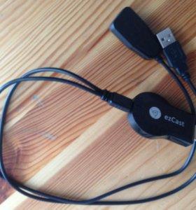 EzCast M2 адаптер для передачи изображения по WiFi