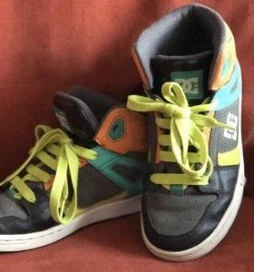 Кроссовки (кеды) высокие DC Shoes, р37