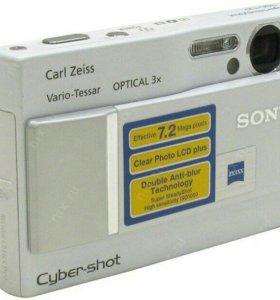 Цифровая камера Sony Cyber- shot DSC-T10