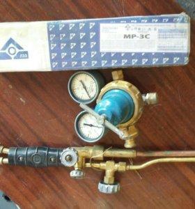 редуктор кислородный, резак газовый, электроды