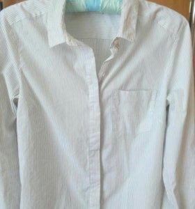 Классическая приталенная рубашка