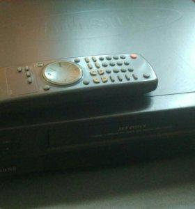 Видеомагнитофон VHS samsung sv-70k