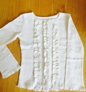 Блузка для девочки 4-6 лет