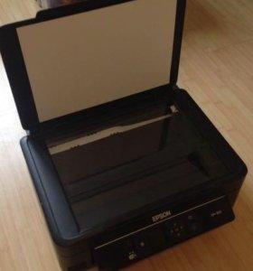 Цветной принтер Epson МФУ
