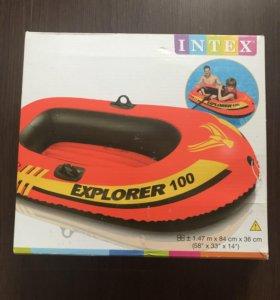 Лодка INTEX explorer 200 новая