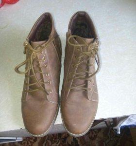 Осенние ботиночки.38 размер.