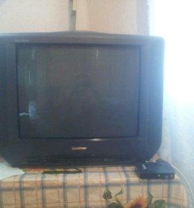 Телевизор и цифровой ресивер