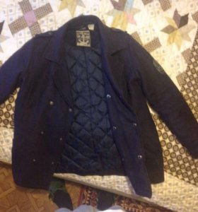 Бушлат (двубортная куртка на подкладке)