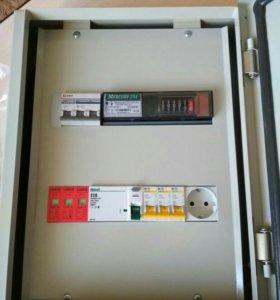 Сборка  электрощитов по тех/у, услуги электрика