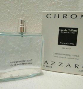 Новый парфюм- тестер Chrome Azzaro