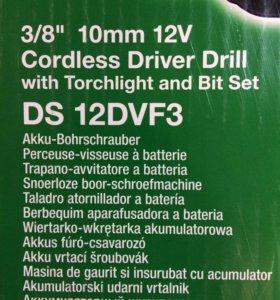 Hitachi шуруповёрт - DS 12 DVF3.