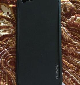 Чехол на айфон 6 плюс, 6s плюс, двухсторонний черн