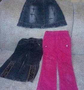 Зимние брюки,джинсовые брюки,джинсовые юбка.