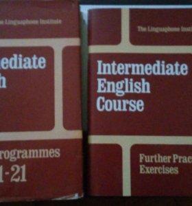 Курсы английского языка.10 книг+пластинки