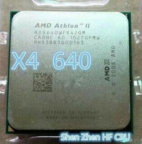 процессор am3 4ядра 640.память ddr3 пк