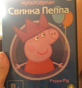 Диск свинка Пеппа