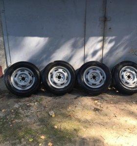 Продам летние колеса