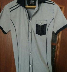 Рубашка новая стильная 48 р.