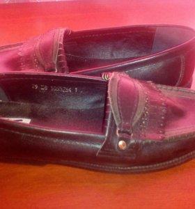 Туфли-мокосины мужские р.42-43