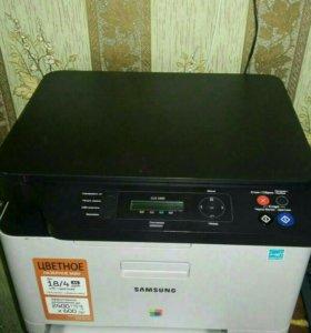 Продам цветной, лазерный принтер Samsung CLX-3305