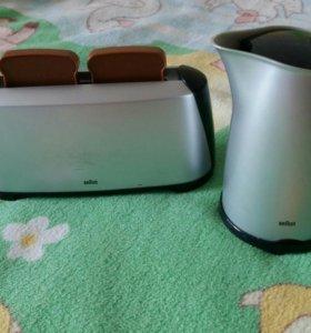 Игрушки тостер и чайник