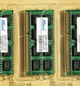 ASint DDR3 2GB 1333 PC3-10600 SO-DIMM 204-Pin 1,5V