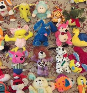 Мягкие игрушки новые