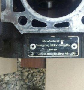Блок двигателя Ssang Yong Rexton 3,2