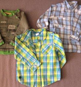 Рубашки 80-83 см