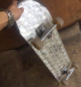Скейт металический Adidas