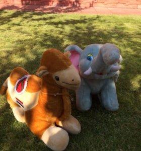 Верблюд и слон