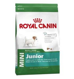 Royal Canin Mini Junio 800гр., 2 и 4 кг.