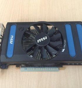 Nvidia GeForce msi GTX 550 TI