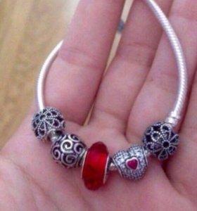 Продам браслет Pandora- оригинал!☺️🌹