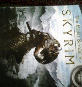 Игра компютерная SkYRIM.
