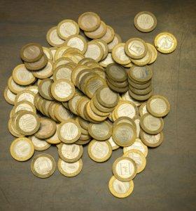 """Юбилейные монеты """"10"""""""