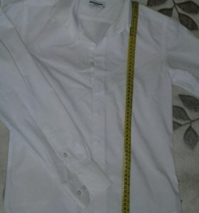 Распродажа!!!Белая рубашка!