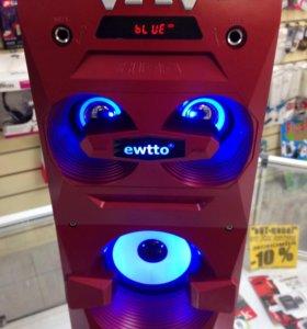 Портативная акустика с подсветкой Bluetooth
